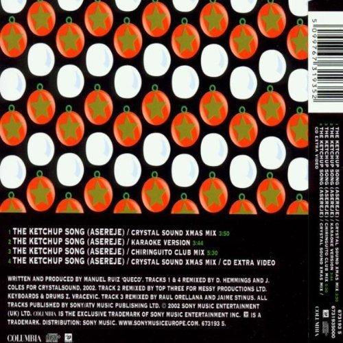Bild 2: Las Ketchup, Ketchup song-Xmas Remix (asereje; 2002)