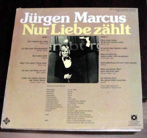 Bild 2: Jürgen Marcus, Nur Liebe zählt (Club, #28323-4)