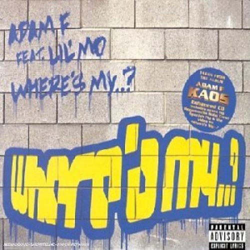 Bild 1: Adam F, Where's my..? (4 versions/video, 2001/02, feat. Lil' Mo)