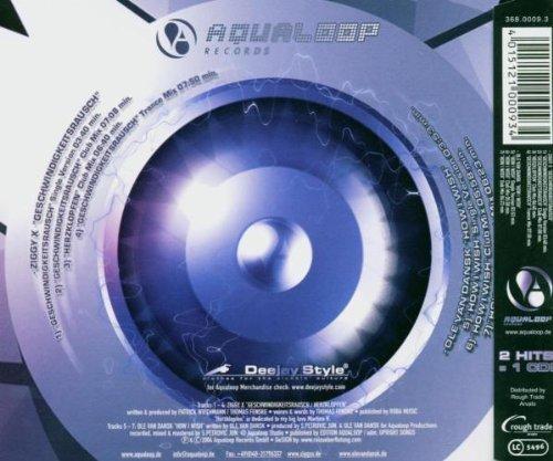 Bild 2: Ziggy X, Geschwindigkeitsrausch (3 versions, 2004, plus 'Herzklopfen', b/w Ole van Dansk 'How I wish [3 versions]')