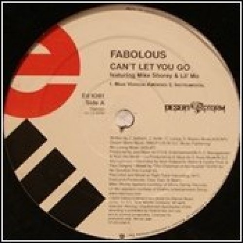 Bild 1: Fabolous, Can't let you go (US, 4 versions, 2003, feat. Mike Shorey & Lil' Mo; plus 'Damn [Album/Instr.]')