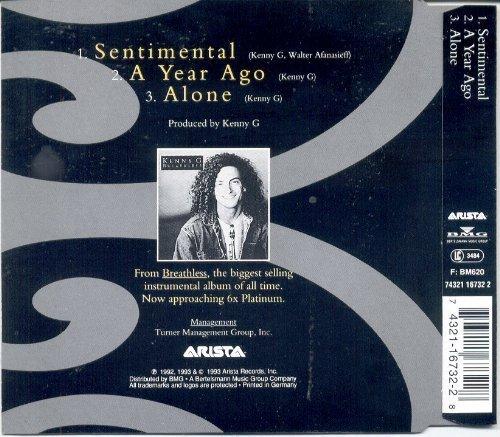 Bild 1: Kenny G, Sentimental (1993)