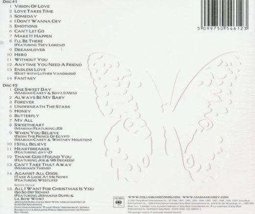 Bild 2: Mariah Carey, Greatest hits (29 tracks, 2001)