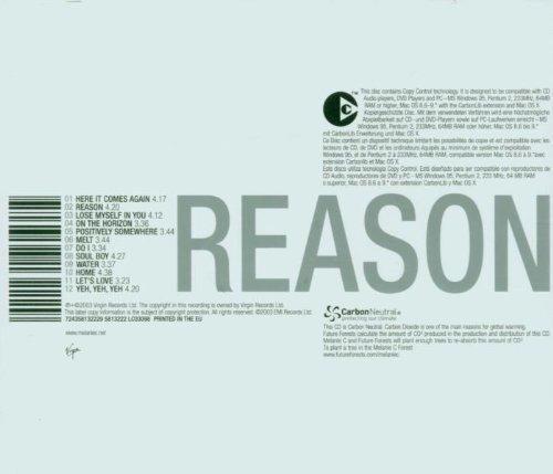 Bild 2: Melanie C, Reason (2003; 12 tracks)