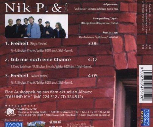 Bild 2: Nik P. & Reflex, Freiheit (2001)
