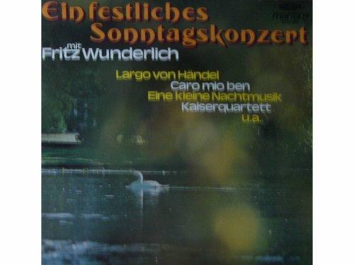 Bild 1: Fritz Wunderlich, Ein festliches Sonntagskonzert