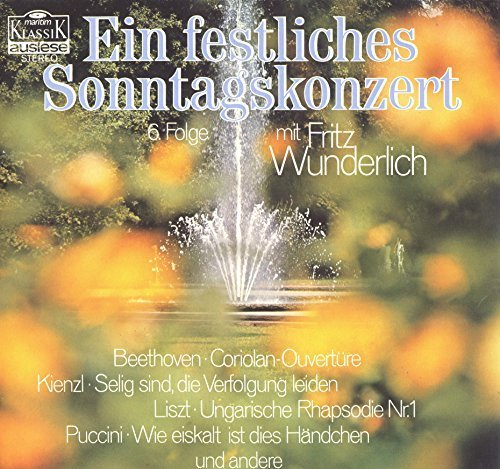 Bild 3: Fritz Wunderlich, Ein festliches Sonntagskonzert
