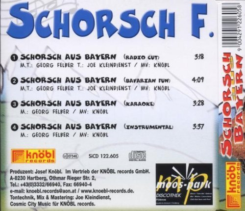 Bild 2: Schorsch F., Schorsch aus Bayern (4 versions)