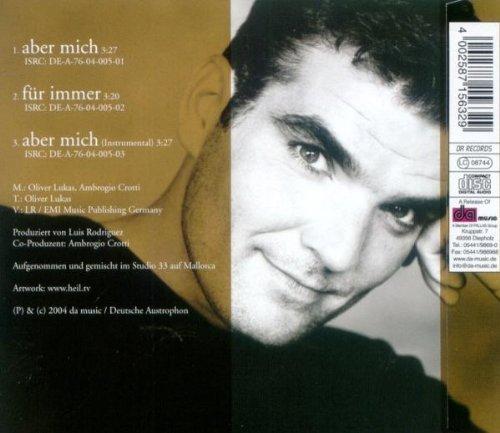 Bild 2: Oliver Lukas, Aber mich (2004, prod. by Luis Rodriguez)