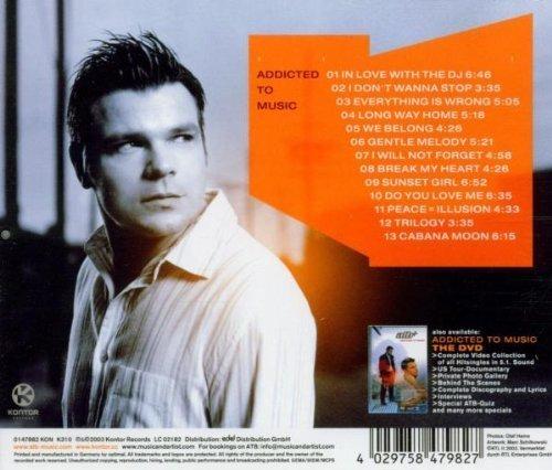Bild 2: ATB, Addicted to music (2003)