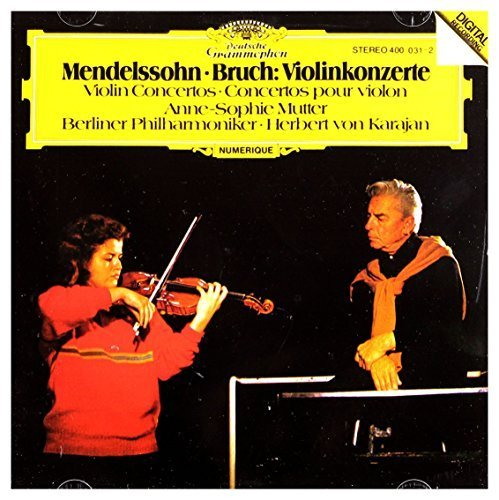 Bild 1: Mendelssohn-Bartholdy, Violinkonzert, op. 64/Bruch: Violinkonzert Nr. 1, op. 26 (DG, 1981) (Anne-Sophie Mutter)