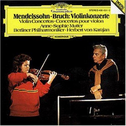 Bild 2: Mendelssohn-Bartholdy, Violinkonzert, op. 64/Bruch: Violinkonzert Nr. 1, op. 26 (DG, 1981) (Anne-Sophie Mutter)