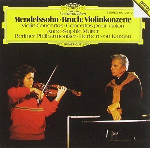 Bild 3: Mendelssohn-Bartholdy, Violinkonzert, op. 64/Bruch: Violinkonzert Nr. 1, op. 26 (DG, 1981) (Anne-Sophie Mutter)