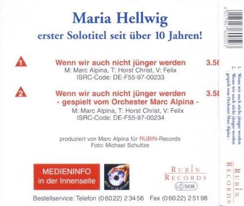 Bild 2: Maria Hellwig, Wenn wir auch nicht jünger werden (plus Instr., 1997)