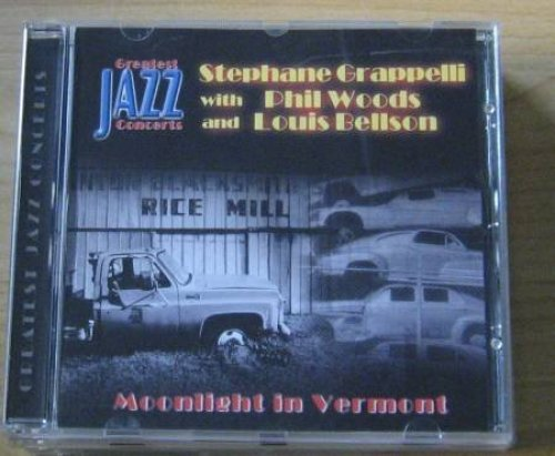 Bild 1: Stephane Grappelli, Moonlight in Vermont (greatest jazz concerts-series, with Phil Woods, Louis Bellson)