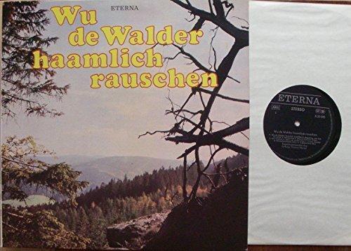 Bild 1: Erzgebirgs-Ensemble Aue, Wu de Walder haamlich rauschen (ETERNA)