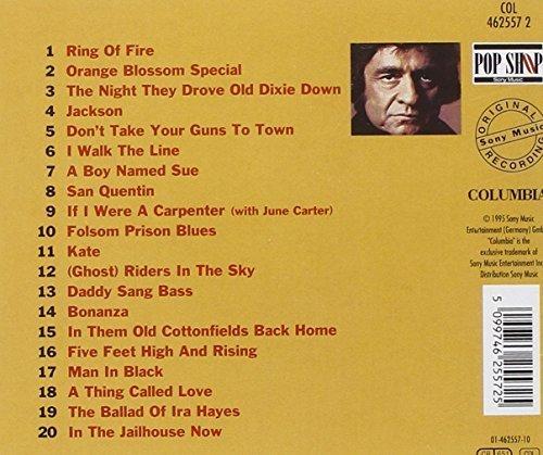 Bild 2: Johnny Cash, Best of (20 tracks, 1988/95, Sony/CBS)