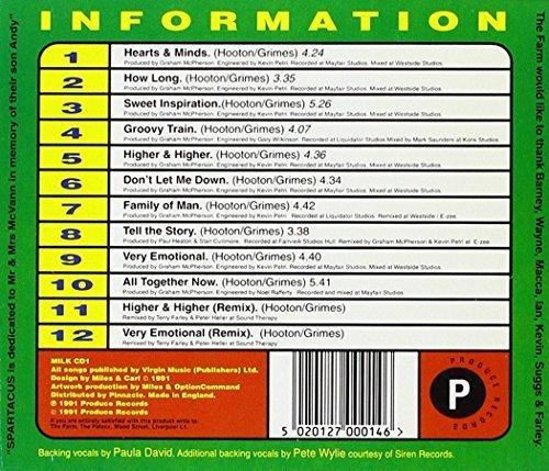 Bild 2: Farm, Spartacus (1991; 12 tracks incl. 2 remixes)