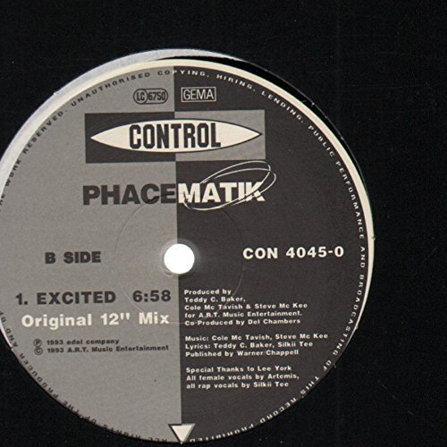 "Bild 2: Phacematik, Excited (Ultraclub/Orig. 12"" Mixes, 1993)"