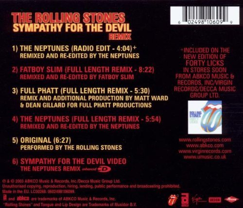 Bild 2: Rolling Stones, Sympathy for the devil-Remix (2003)
