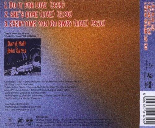 Bild 2: Daryl Hall & John Oates, Do it for love (2003)