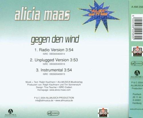 Bild 2: Alicia Maas, Gegen den Wind (2004)