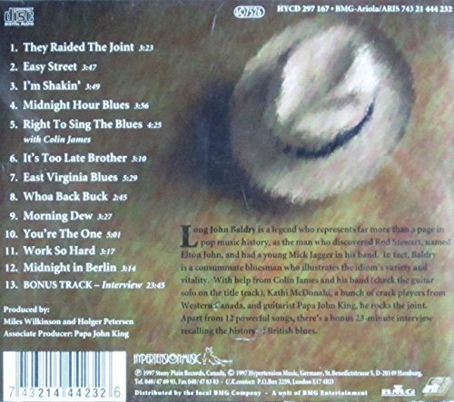 Bild 2: Long John Baldry, Right to sing the blues (1997, incl. interview)