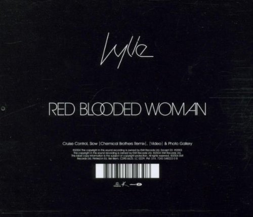 Bild 2: Kylie Minogue, Red blooded woman (2004)