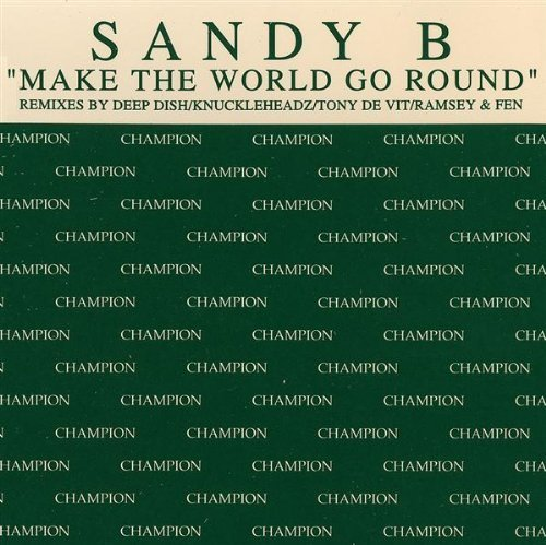 Bild 1: Sandy B, Make the world go round (UK, 6 versions, 1998)