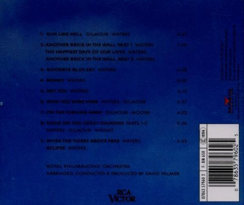 Bild 2: Pink Floyd, Music of Pink Floyd played by the Royal Philharmonic Orchestra (1994)