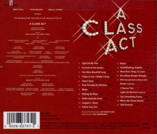 Bild 3: A Class Act, Original cast recording (by Edward Kleban)