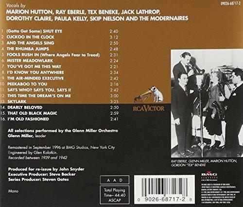Bild 2: Glenn Miller, Miller plays Mercer (16 tracks, 1939-1942, feat. Marion Hutton, Ray Eberle..)