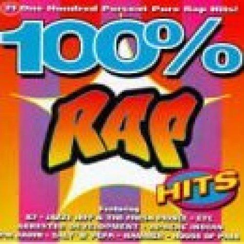 Bild 1: 100% Rap Hits, K7, House of Pain, Jazzy Jeff & The Fresh Prince, Arrested Development, A Tribe called Quest, De La Soul, Vanilla Ice..