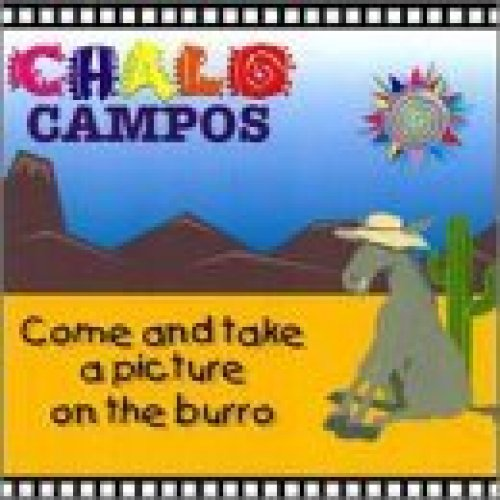 Bild 1: Chalo Campos, Come and take a picture on the burro (1997, US)