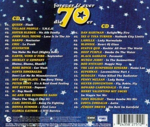 Bild 2: Die 70er-Forever & ever, Queen, Village People, Rose Royce, Peter Kent, Hot Butter, Deep Purple, Buggles..
