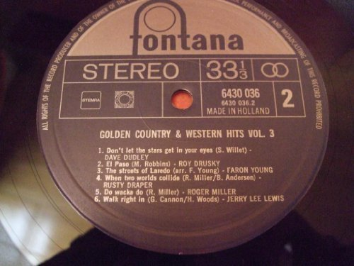 Bild 2: Golden Country & Western Hits 3, Leroy van Dyke, Jerry Lee Lewis, Faron Young, Dave Dudley, Roy Drusky..