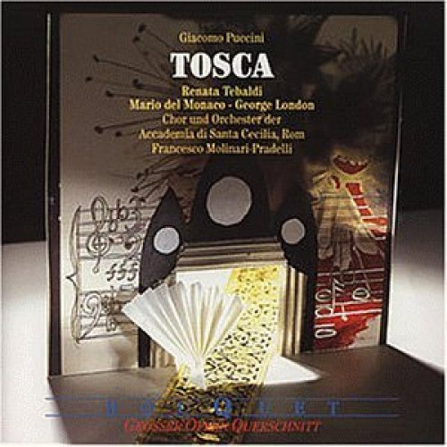 Bild 1: Puccini, Tosca-Großer Querschnitt (Decca/Bouquet, 1959) (Chor & Orch. der Accademia di Santa Cecilia, Rom/Molinari-Pradelli, Renata Tebaldi, Mario del Monaco..)