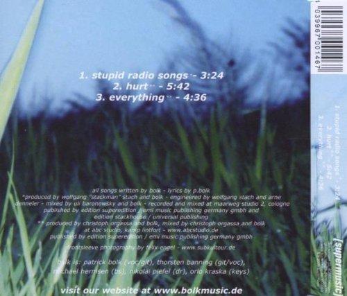 Bild 2: Bolk, Stupid radio songs (2005)