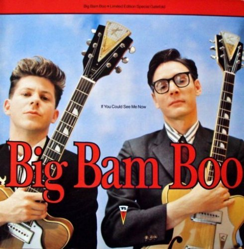 Bild 1: Big Bam Boo, If you could see me now (1989)
