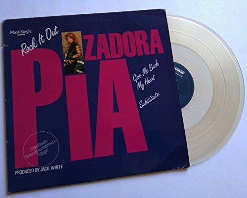 Bild 1: Pia Zadora, Rock it out (1985, clear vinyl)