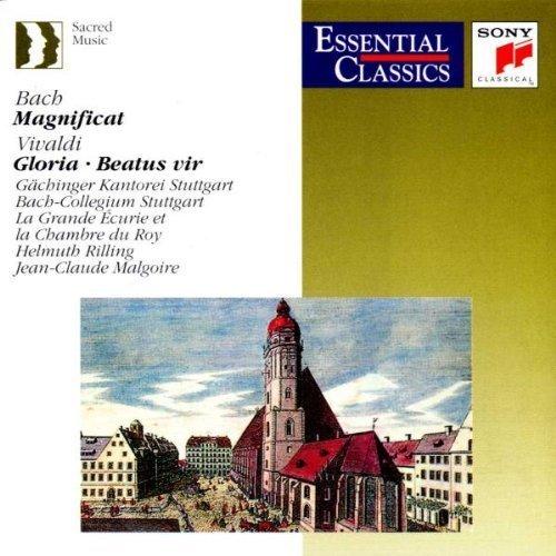 Bild 1: Bach, Magnificat, BWV 243/Vivaldi: Gloria, RV 589/Beatus vir, RV 598 (Sony, 1977/80) Gächinger Kantorei Stuttgart/Bach-Collegium Stuttgart/Rilling..