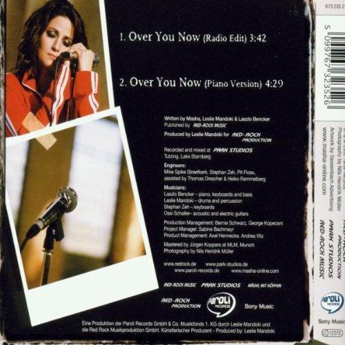 Bild 2: Masha, Over you now (2002; 2 tracks)