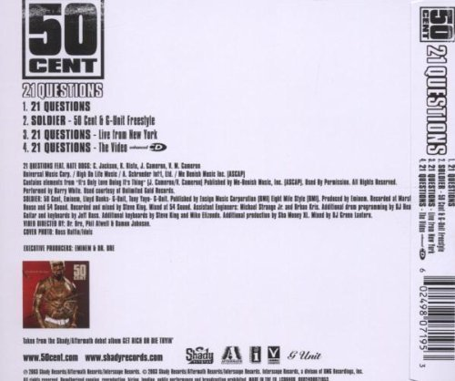 Bild 2: 50 Cent, 21 questions (2003)