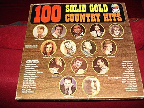 Bild 1: 100 Solid Gold Country Hits, Glenn Campbell, Tennessee Ernie Ford, Johnny Cash, Buck Owens, Wanda Jackson, Patsy Cline..