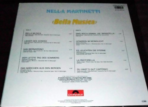 Bild 2: Nella Martinetti, Bella musica (1986)