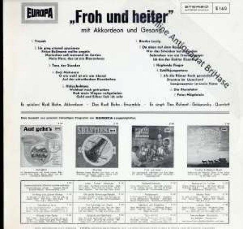 Bild 2: Rudi Bohn (Orch.), Froh und heiter mit Akkordeon und Gesang