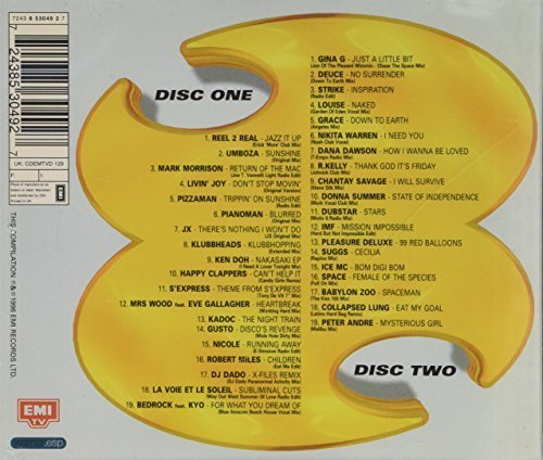 Bild 2: Big Mix 96, Reel 2 Real, Mark Morrison, Klubbheads, S'Express, Robert Miles, Peter André..