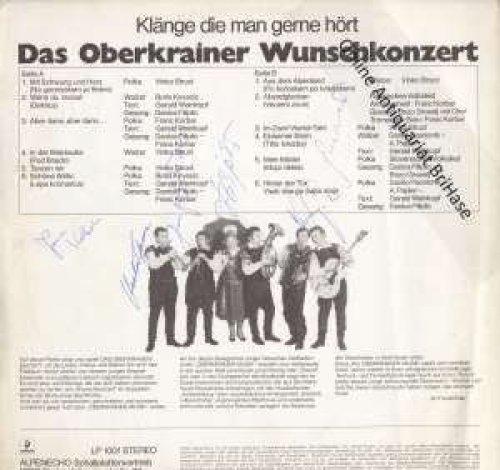 Bild 2: Oberkrainer Sextett Janes Kalsek, Oberkrainer Wunschkonzert