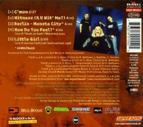 Bild 2: H-Blockx, C'mon (2001, digi, ltd. edition)