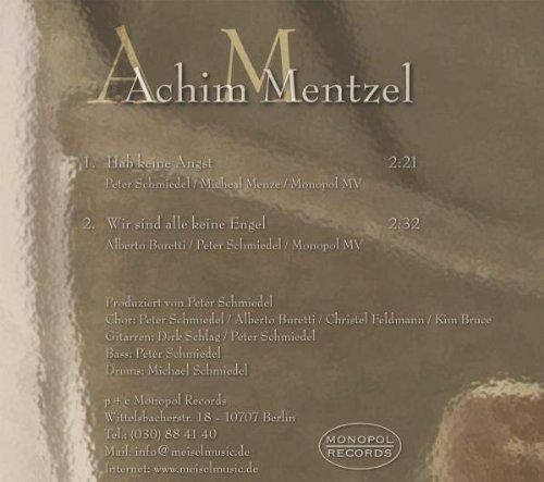 Bild 2: Achim Mentzel, Hab keine Angst/Wir sind alle keine Engel